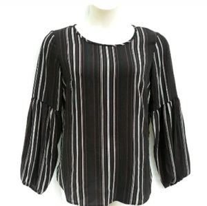 Apt 9 Womens Bishop Long Sleeve Blouse